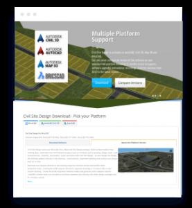 Civil Site Design for Civil 3D, Map 3D, AutoCAD and BricsCAD