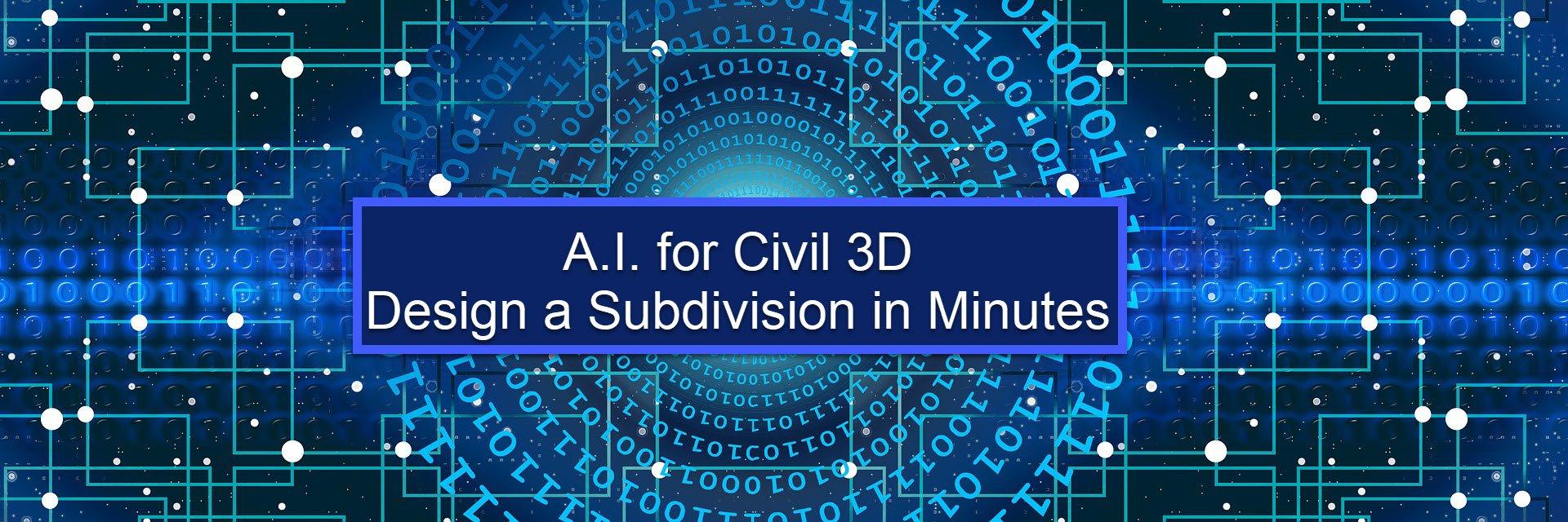 AI for Civil 3D